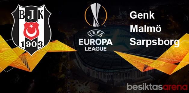 Beşiktaşın UEFA Avrupa ligindeki rakipleri Belli Oldu.