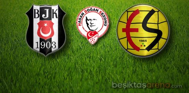 Beşiktaş:2 Eskişehirspor:0 (İlk Yarı Sonucu)