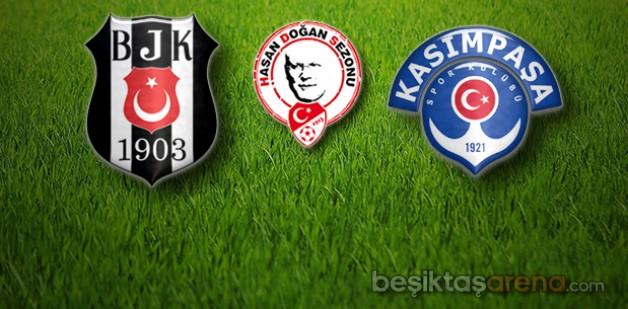 Beşiktaş:1 Kasımpaşa:2 (İlk Yarı Sonucu)