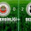 Gençlerbirliği: 0 Beşiktaş: 2 Maç Sonucu