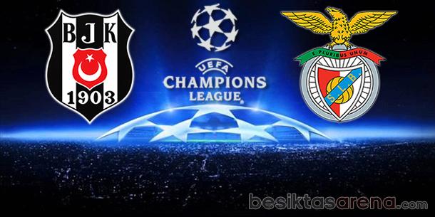 Beşiktaş-Benfica-ic saha