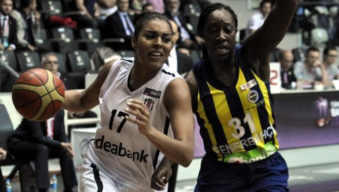 Beşiktaş Fenerbahce kadın basketbol
