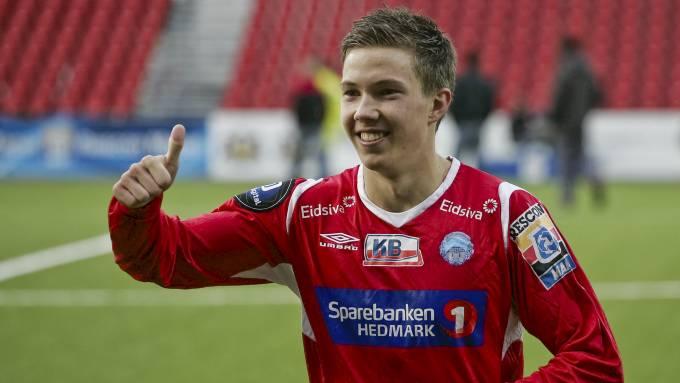Martin Linnes kan vise tommel opp for ny klubb.