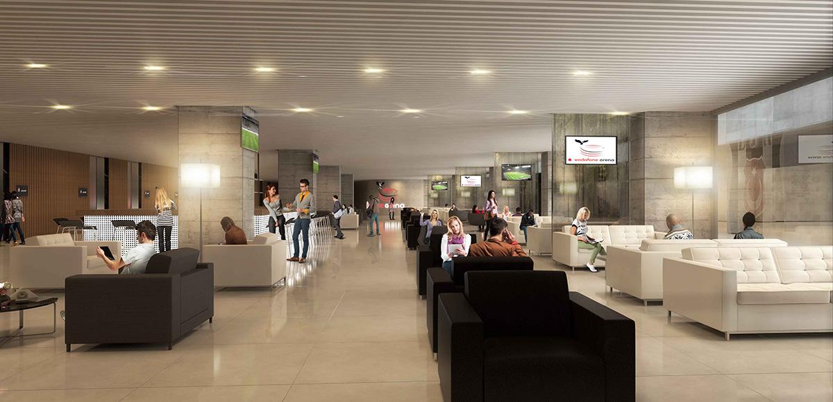 Vodafone Arena VIP Koltuk