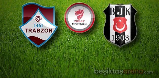 1461 Trabzon 0-1 Beşiktaş (İlkYarı)