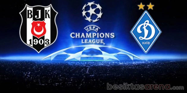 Beşiktaş 1 – Dinamo Kiev 0 (İlk Yarı Sonucu)