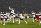 Beşiktaşlı futbolcuların tur sevinci