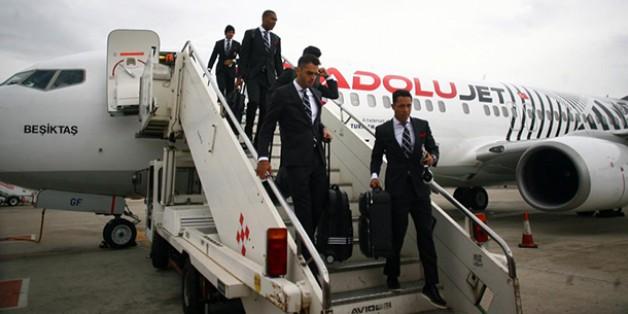 Beşiktaş Napoli'ye Ulaştı
