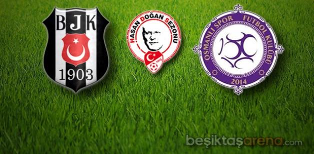 Beşiktaş:2 Osmanlıspor:0 (İlk Yarı Sonucu)