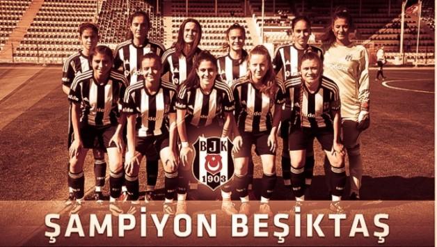Kadın Futbol Takımımız Şampiyon Oldu