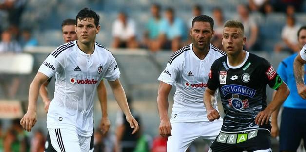 Beşiktaş:0 Sturm Graz:2