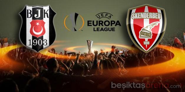 Beşiktaş 2–0 Skenderbeu (Maç Sonucu)