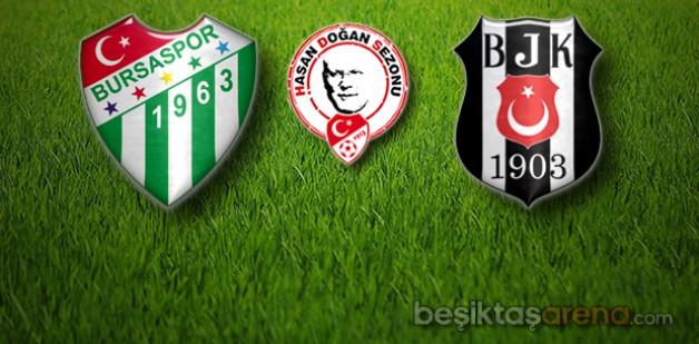 Bursaspor 0-0 Beşiktaş (İlk yarı)