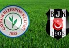 Çaykur Rizespor: 1 Beşiktaş: 2 (Maç Sonucu)