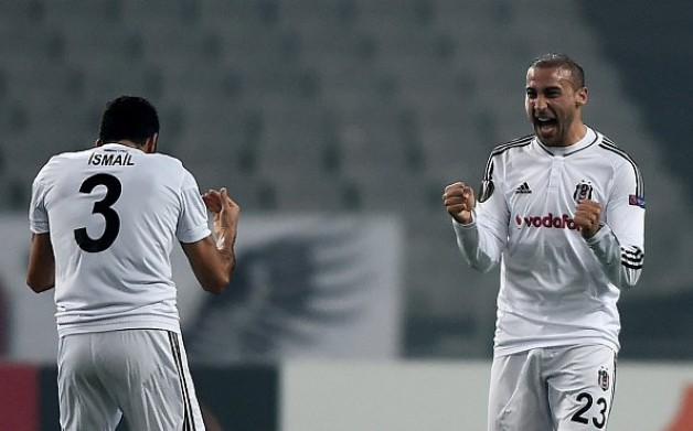 Beşiktaş, Avrupa Ligi'nde de lider!