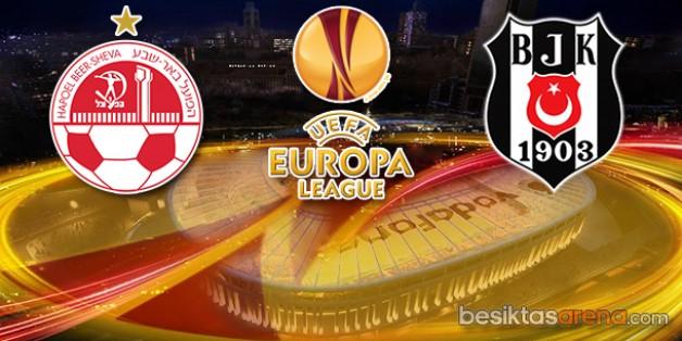 Hapoel Beer-Sheva 1-3 Beşiktaş