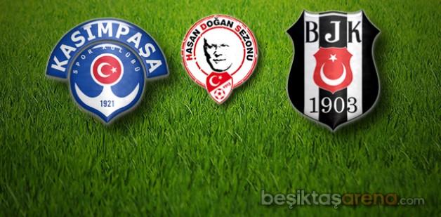 Kasımpaşa:1 Beşiktaş:1 (İlk Yarı Sonucu)