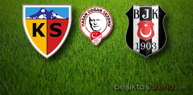 Kayserispor 1 – 2 Beşiktaş (İlk Yarı Sonucu)