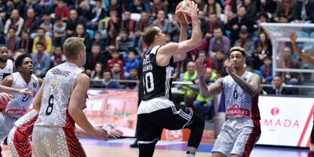 Muratbey Uşak 66-84 Beşiktaş SJ Maç Sonu