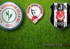 Çaykur Rizespor:1 Beşiktaş:2 (Maç Sonucu)
