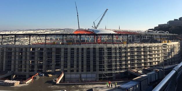 Vodafone Arena Fotoğrafları 09 Şubat 2016