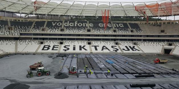 Vodafone Arena Fotoğrafları 28 Şubat 2016 (14.00)