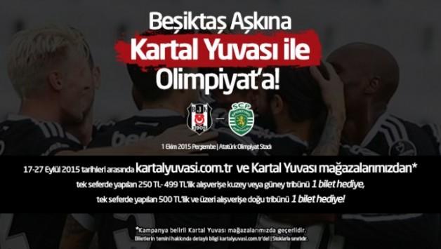 Beşiktaş Aşkına Kartal Yuvası ile Olimpiyat'a!