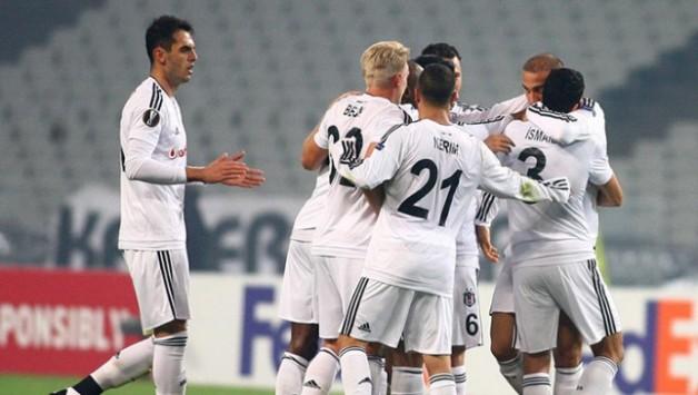 Beşiktaş 1–0 Skenderbeu (İlk Yarı Sonucu)