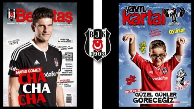 Beşiktaş Dergisi'nin Ekim Sayısı Çıktı