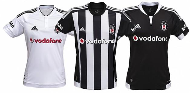 Beşiktaş'ın 3 Farklı Modeldeki Formaları İçin Çektiği Reklam Filmleri