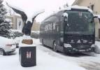 Liverpool Maçı Öncesi Kar Engeli