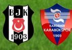 Beşiktaş: 1 – K.Karabükspor: 0 (İlk Yarı Sonucu)