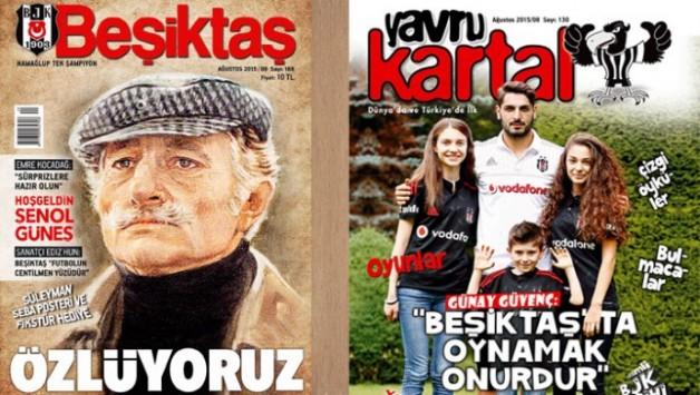 Beşiktaş Dergisi'nin Ağustos Sayısı Çıktı