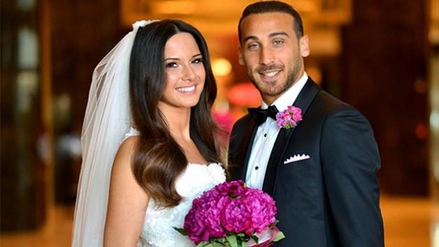Cenk Tosun ve Ece Akgündüz evlendi