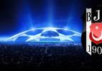 Beşiktaş'ın UEFA Şampiyonlar Ligi Kadrosu Belli Oldu
