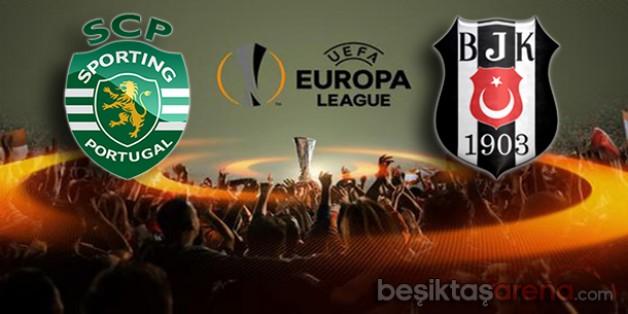 Sporting Lizbon 0-0 Beşiktaş (İlk Yarı)