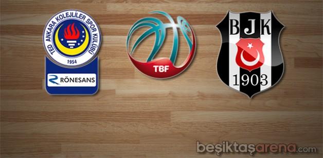 TED Ankara Kolejliler 83-94 Beşiktaş S.J.