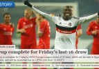 Beşiktaş'ımız UEFA manşetinde
