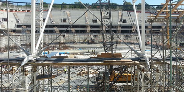 Vodafone Arena Fotoğrafları 01 Eylül 2015 (14.00)