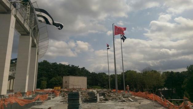 Vodafone Arena Fotoğrafları 11 Temmuz 2015 (13.30)