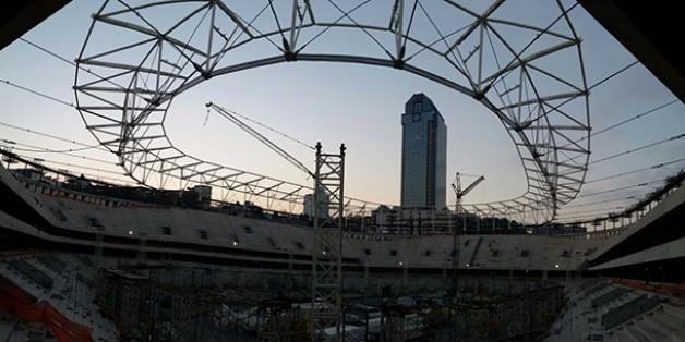 Vodafone Arena Fotoğrafları 13 Kasım 2015 (16.30)