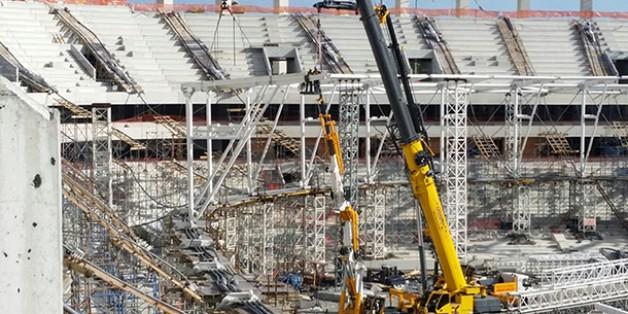 Vodafone Arena Fotoğrafları 18 Eylül 2015 (17.00)