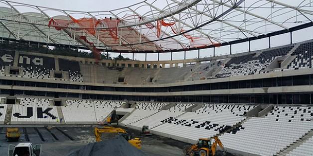 Vodafone Arena Fotoğrafları 27 Şubat 2016 (18.00)