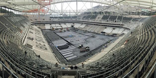 Vodafone Arena Fotoğrafları 27 Şubat 2016