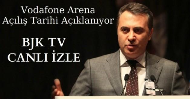 Vodafone Arena'nın Açılış Tarihi Açıklanıyor