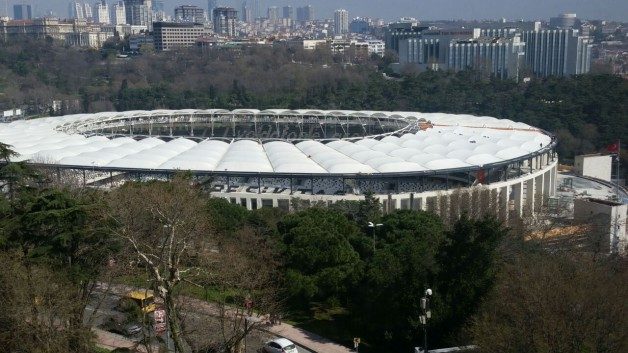 Vodafone Arena Membran Kaplamada Sona Gelindi