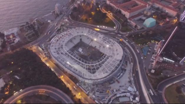 Vodafone Arena Son Hali Drone Çekimi