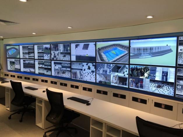 Vodafone Arena'daki Güvenlik Odası Tanıtıldı