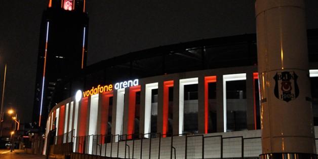 Vodafone Arena Cumhuriyet Bayramını Kutluyor.