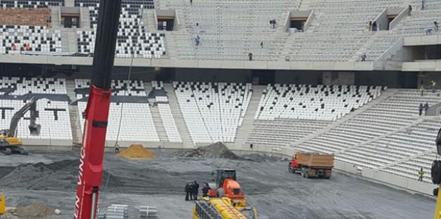 Taraftarın Vodafone Arena'daki Koltuk İsyanı